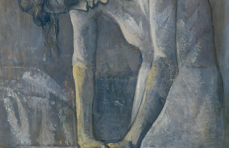 Pablo Picasso, Woman Ironing, Paris, 1904. Oil on canvas, 45 3/4 x 28 3/4 inches (116.2 x 73 cm)