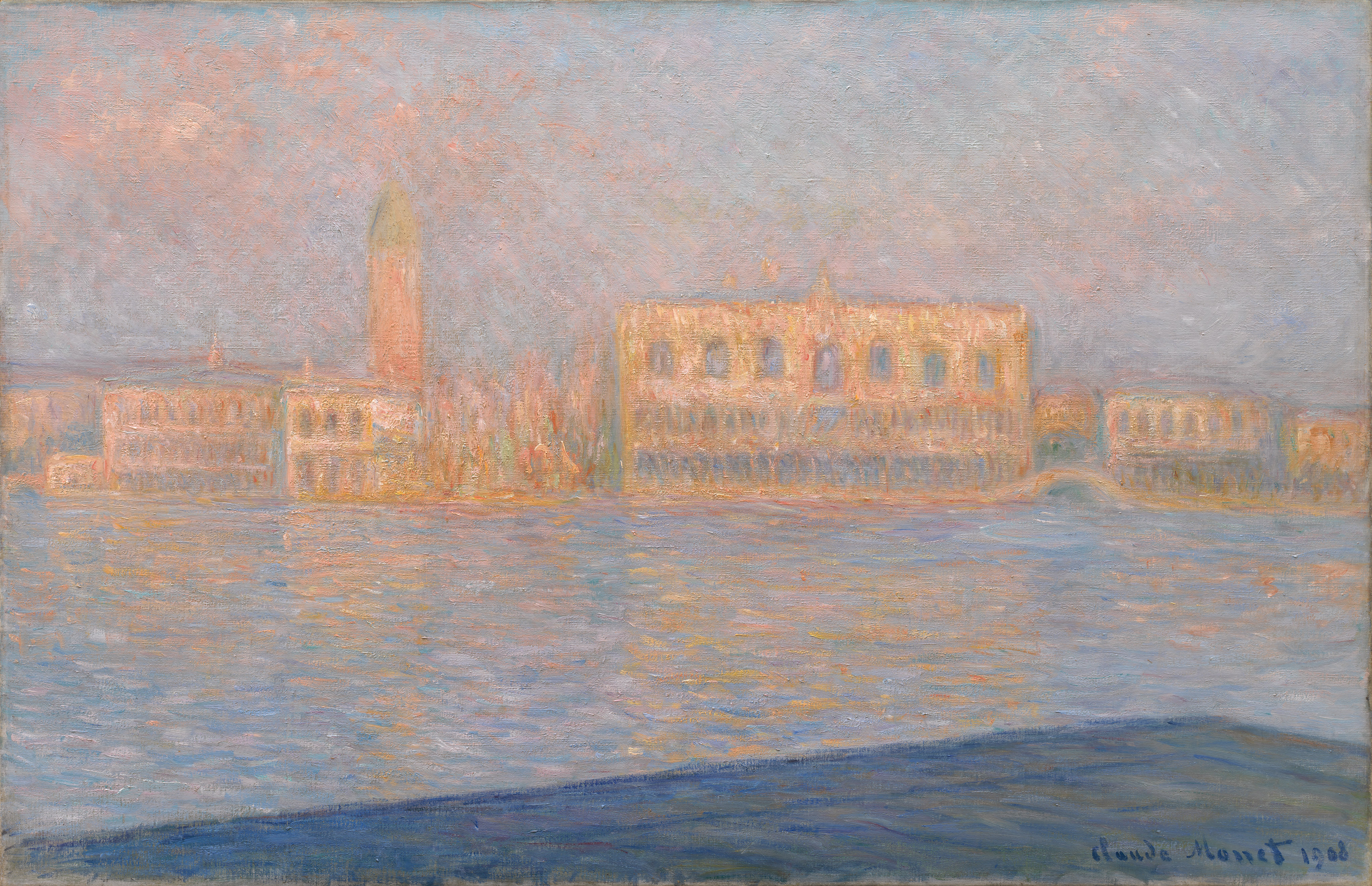 The Palazzo Ducale, Seen from San Giorgio ...