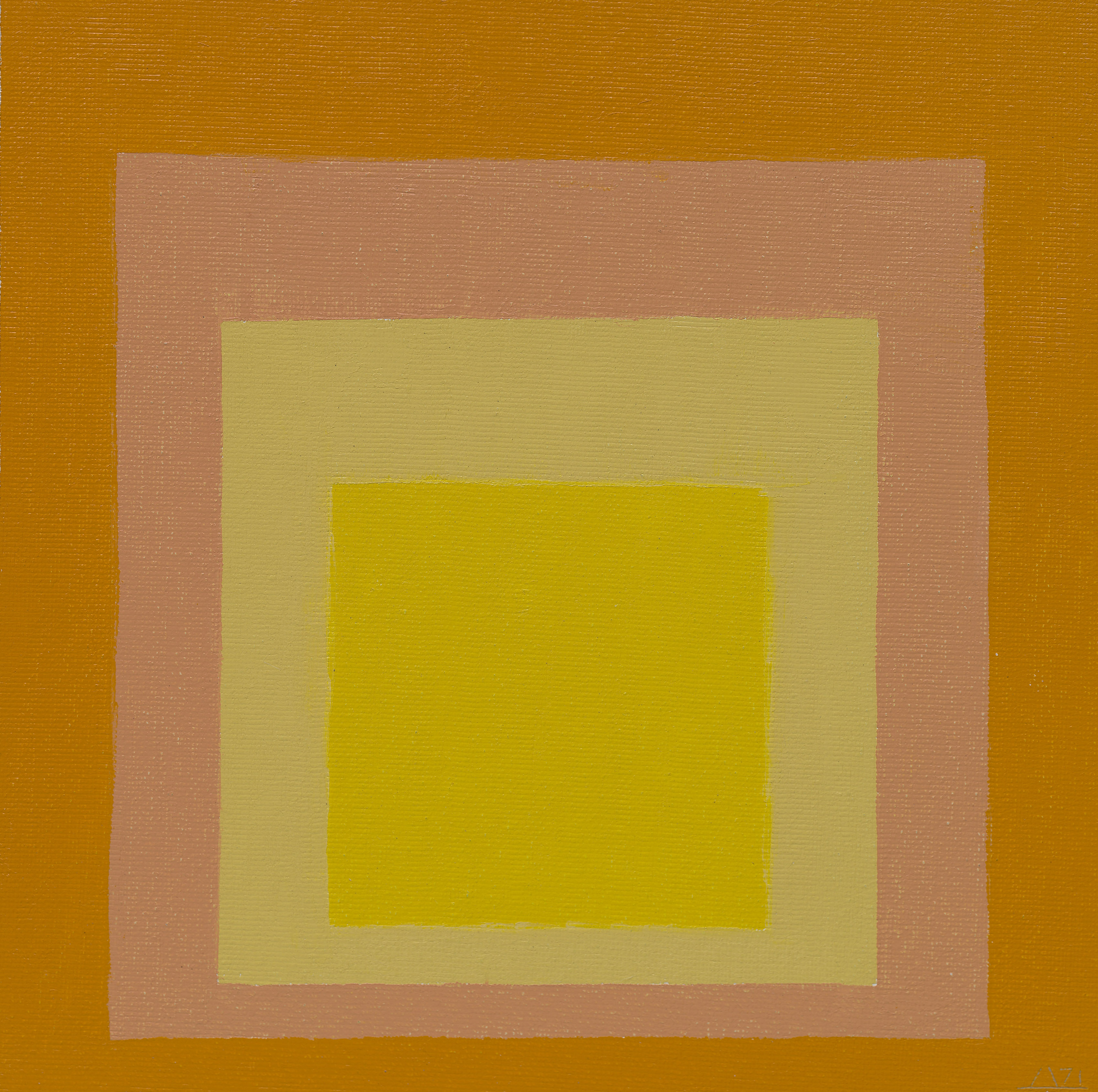 Study for Homage to the Square: Consent