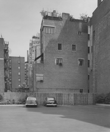 Parking Lot Next To The 1071 Fifth Avenue Townhouse Prior To Construction
