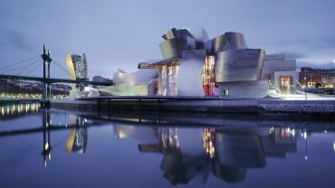 Exterior of the Guggenheim Museum Bilbao