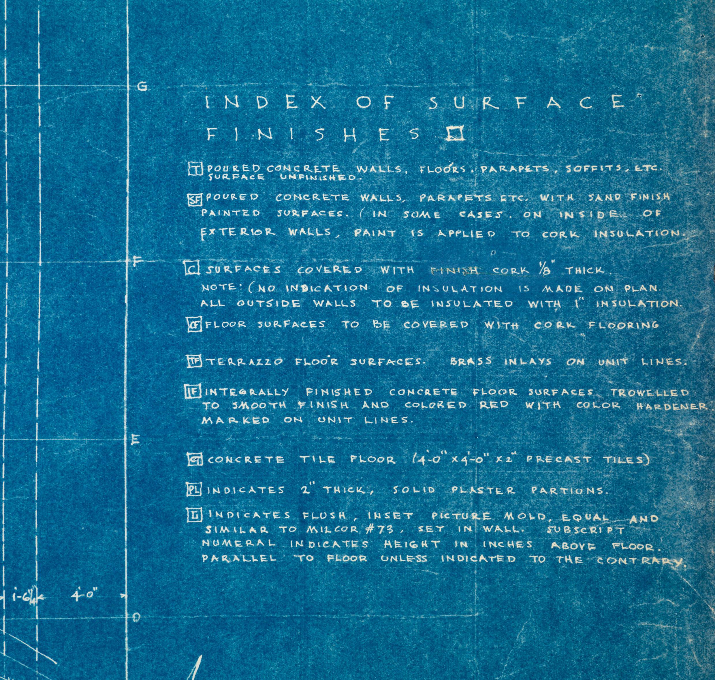 illuminating details from frank lloyd wright u0027s guggenheim blueprints